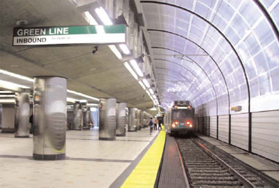 Green Line Relocation Haymarket to Science Park